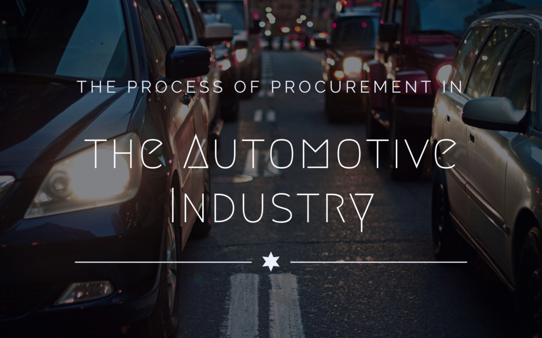 The Process of Procurement in the Automotive Industry